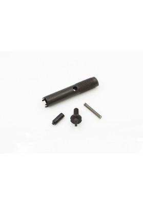AR15 Front Sight Kit w/ Tool, Knurled
