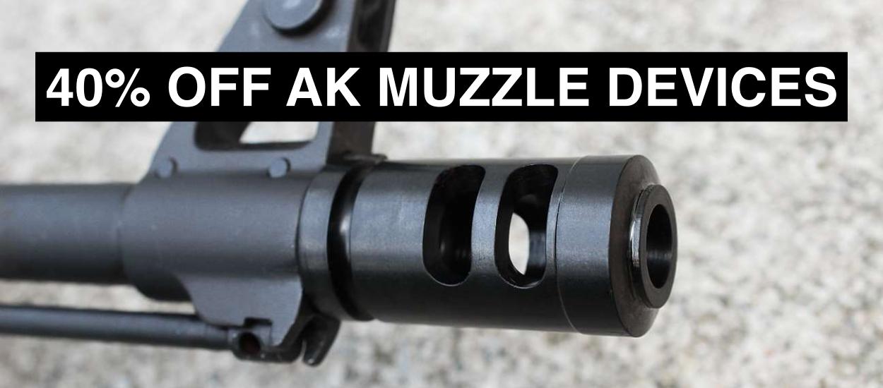 40 off muzzle