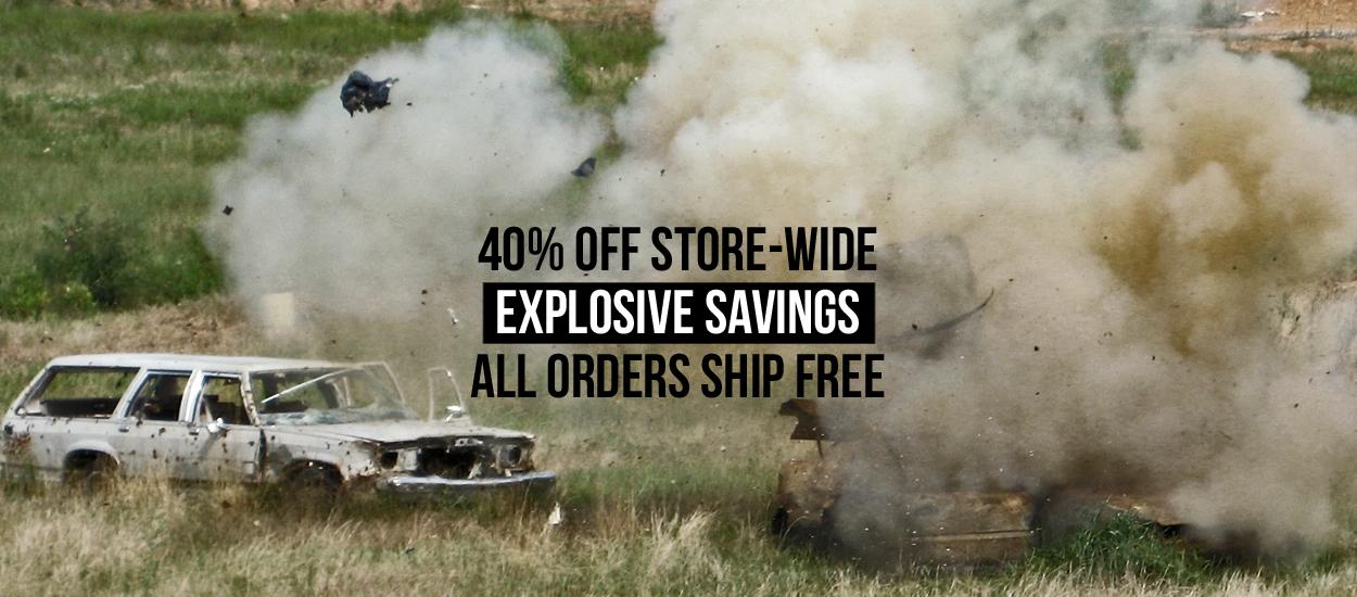 40% Off Explosive Savings