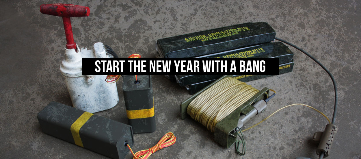 Start the New Year with a BANG