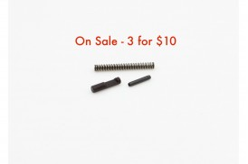 Ejector Kit, 3pc Spring-Pin-Ejector AR15 5.56 .223