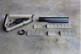 8pc Kit, ECS Enhanced Combat System Buttstock - Commercial Spec