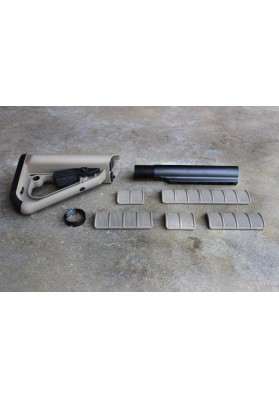 8pc Kit, ECS Enhanced Combat System Buttstock - Commercial Spec