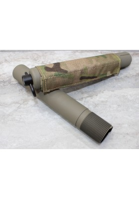 "FDE Receiver Extension Buffer Tube, Pistol w/QD socket 1.190"" Diameter"