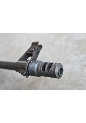 Muzzle Brake, Short Barrel, 14-1 LH, 4-Slot