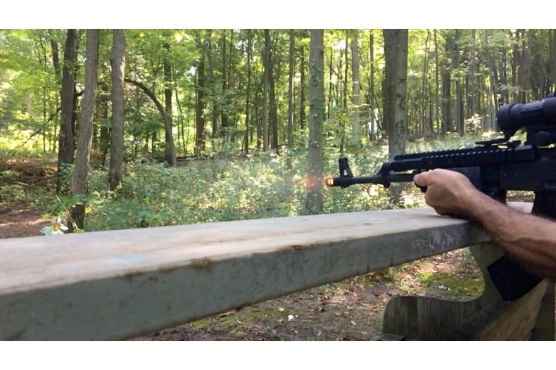 Muzzle Brake 14-1 LH, 4 Slot, AK-47, Black