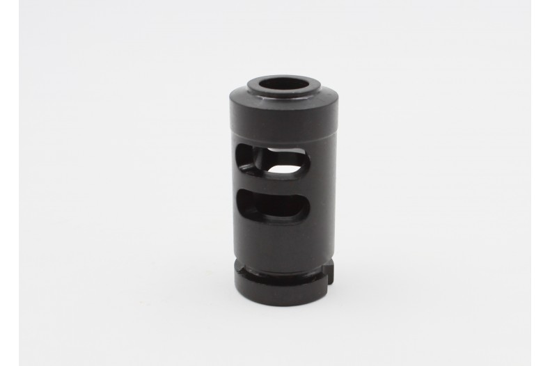 Muzzle Brake 14-1 LH, 4 Slot, AK-47, Black