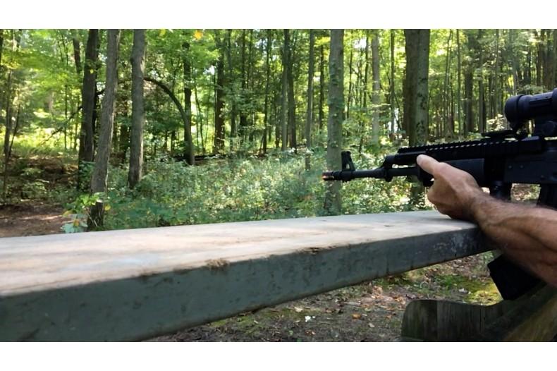 AK Tactical Crown Compensator, 14-1 LH