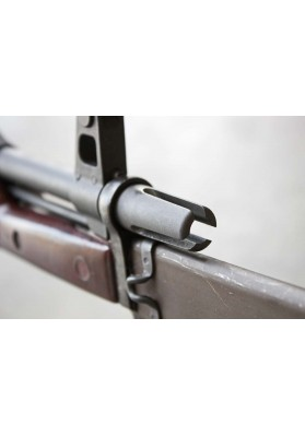 Three Prong Compensator, AK47 14-1 LH Thread, Bayonet Compatible
