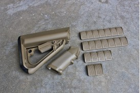 Enhanced Combat System Furniture Kit, Commercial Spec, Flat Dark Earth
