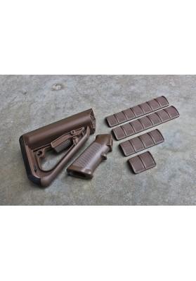 Enhanced Combat System Furniture Kit, Mil-Spec, SHTF Brown