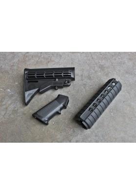 M4 Carbine QD Furniture Kit, Black