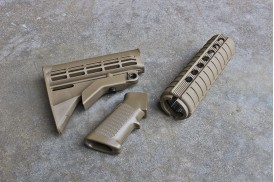 M4 Carbine QD Furniture Kit, Flat Dark Earth