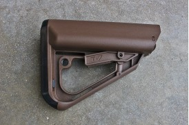 Stock, Enhanced Combat System, Mil-Spec, SHTF Brown