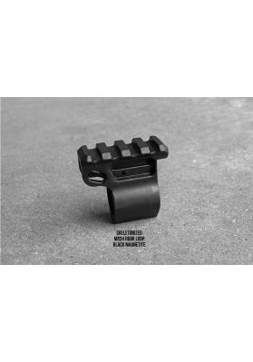 "AR15/M16/M4 Skeletonized Gas Block Rail w/Hook, .750"""