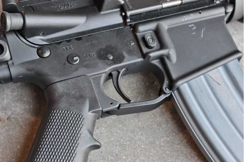AR15/M16 Enhanced Trigger Guard w/o Plug