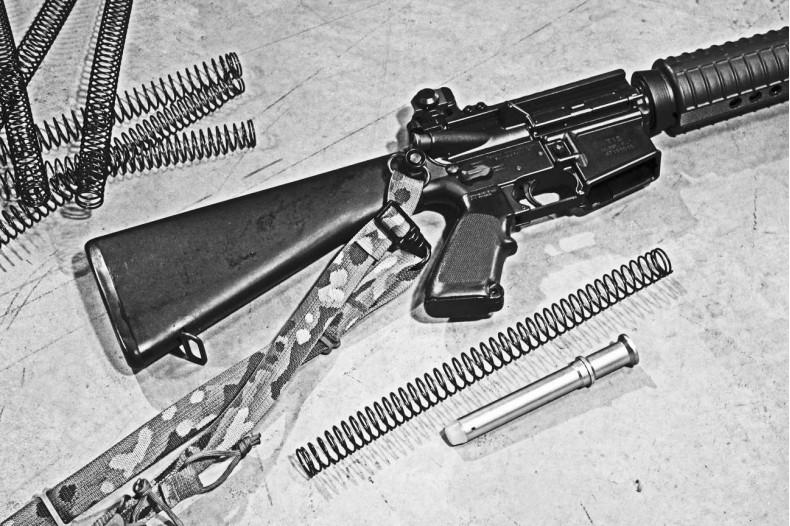 RIFLE LENGTH Enhanced Recoil Buffer Spring, AR-15 M4