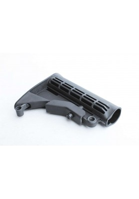 Buttstock, M4 Carbine w/2 QD Mounts, Black