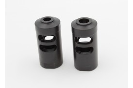 AR-15 4 Slot Muzzle Brake, Choice of Thread Pitch