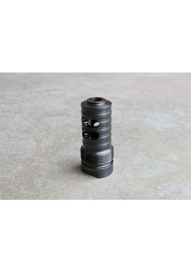 Muzzle Brake, Short Barrel, 4 Slot 5/8 x 24