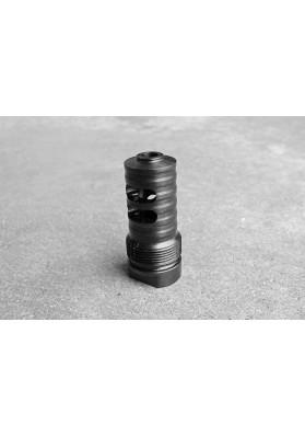 Muzzle Brake, Short Barrel, 4 Slot 1/2 x 28