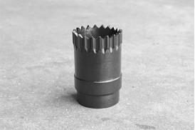 Projector Sleeve, Short Barrel, Tactical Crown, Black Oxide