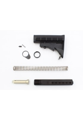 8 Pcs Kit, Complete Buttstock, M4 Telescoping, Mil-Spec