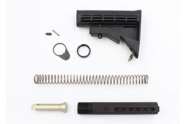 8 Pcs Kit, Complete Buttstock, M4 Telescoping, Mil-Spec