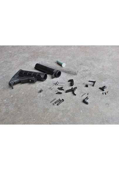 Kit, Mil-Spec, Complete Lower Receiver Assembly w/ Sling Loop Buttstock