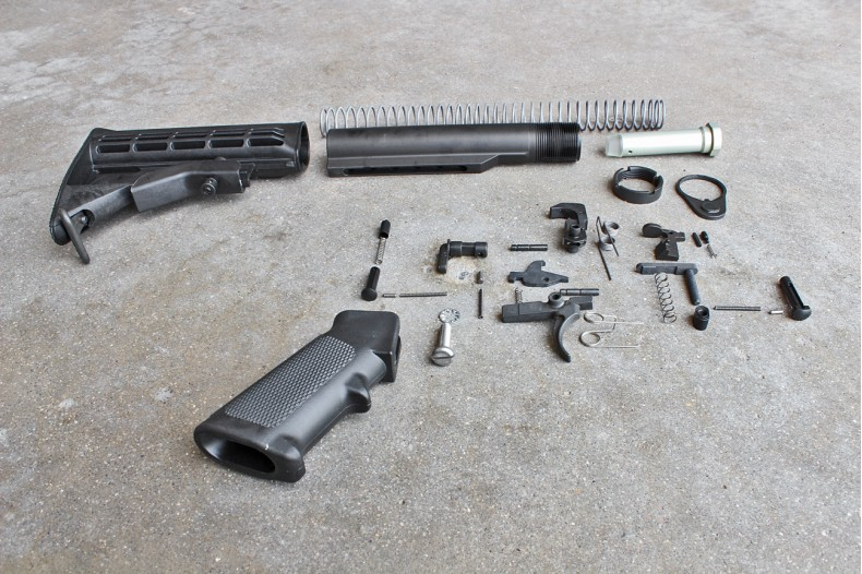 Kit, Complete Lower Receiver Parts Assembly w/Buttstock