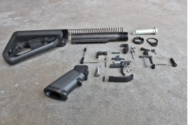 Kit, Enhanced, Complete Lower Receiver Assembly w/ ECS Buttstock