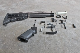 Kit, Enhanced, Complete Lower Receiver Assembly w/ 2 QD Mount Buttstock