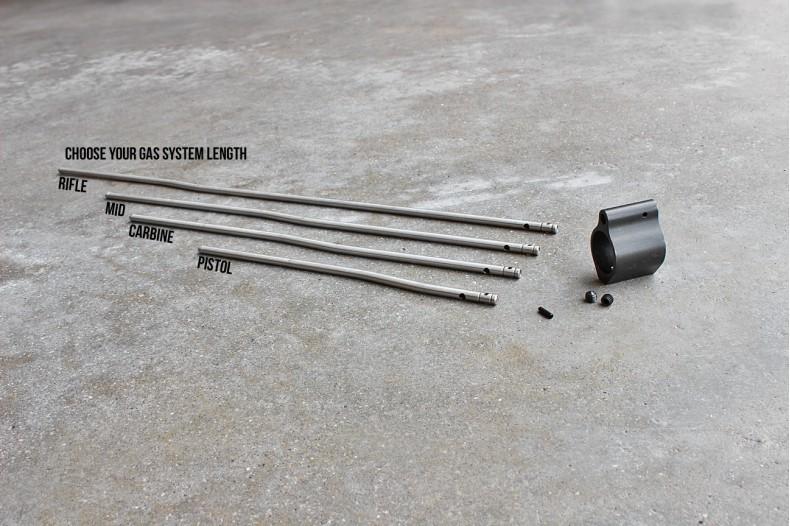 Kit, Low Pro Gas Block w/ Gas Tube