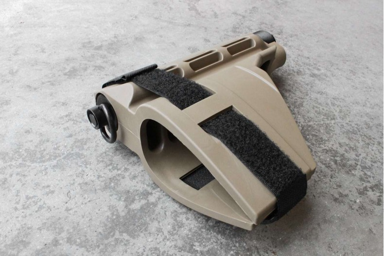 "Pistol Buffer Tube Receiver Extension w/QD socket 1.190"" Diameter"