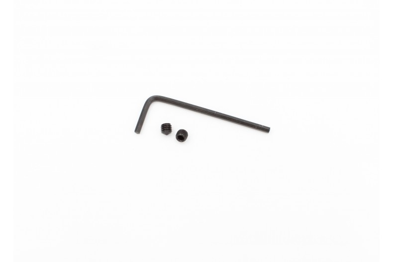 Standard Gas Block Set Screws, 2pc with L-Wrench