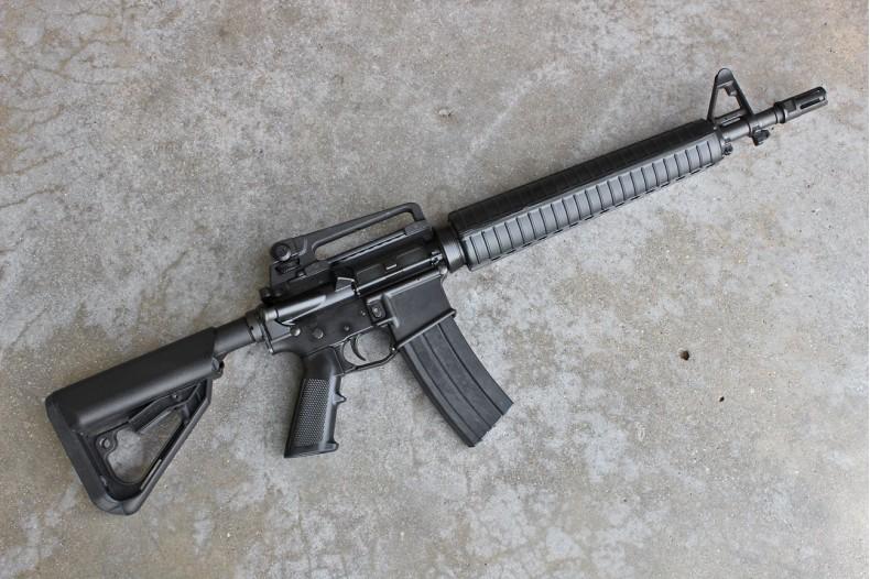 AR15/M16 Handguard Assembly, Rifle Length, Black