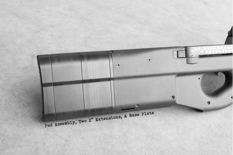 """Extension, 2"""" FN P90 PS90 Chassis"""