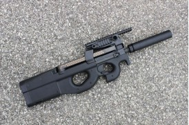 Butt Plate & Pad Assembly, FN PS90 P90 Chassis