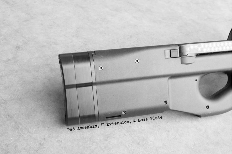 "Extension, 1"" FN PS90  P90 Chassis"