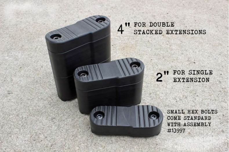 Fastener, Hex Bolts, P90 Stock Extension