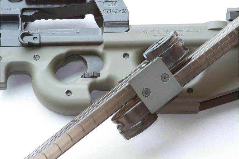 P90 Dual Magazine Holder, Black