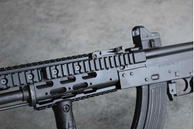 Mount, 1913 Rail, Side Cantilever Optic, AK-47 Modular Forearm
