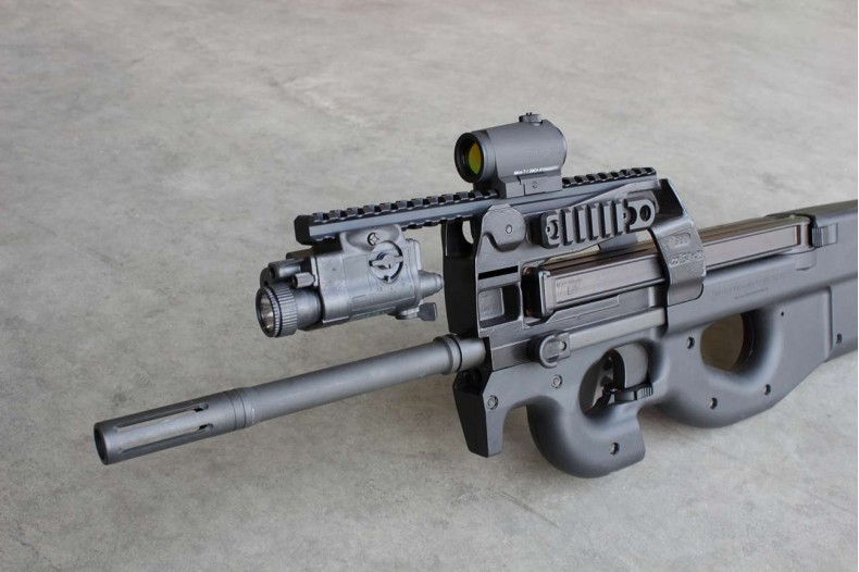 1913 Rail, Extended Optic, P90/PS90