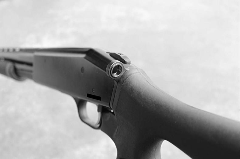 Tactical Shotgun End Plate, QD Mount, Mossberg 500
