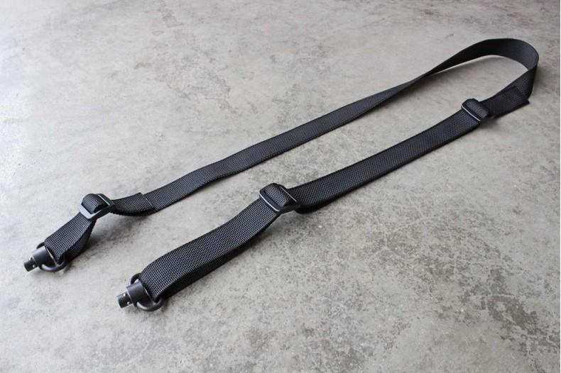 "2pt Small Arms Sling & Swivel Combo, Standard 1"" Black"