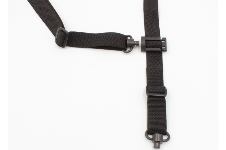 "2-To-One Sling Connector, Quick Detach, 1.25"", Slip-On Radius or Flat"