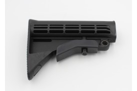Buttstock, M4 Carbine w/QD Mount, Mil-Spec, Black