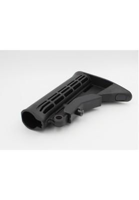 Buttstock, M4 Carbine w/QD Mount, Mil-Spec, Black