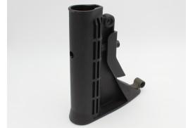 Buttstock, M4 Carbine w/2 QD Mounts, Black
