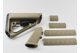 Enhanced Combat System Furniture Kit, Commercial Spec, Coyote Tan